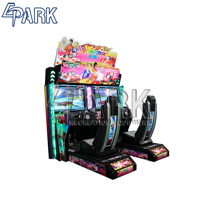 Factory price coin operated electronic racing simulator EPARK classic commercial car racing game machine