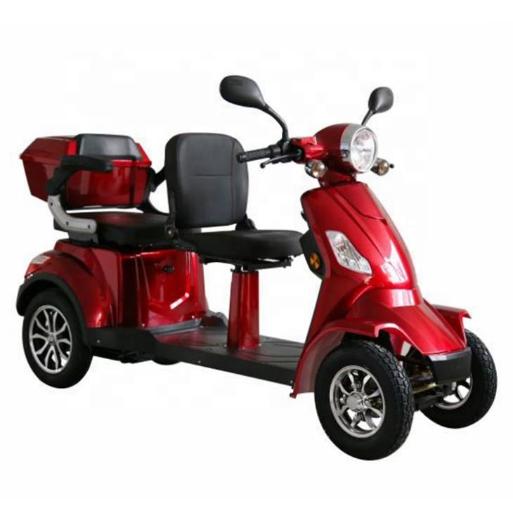 2019 hot sale 4 wheel 2 seat electric mobility scooter for adults