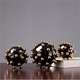 Modern home decor ball home decoration pieces luxury home decor accessories