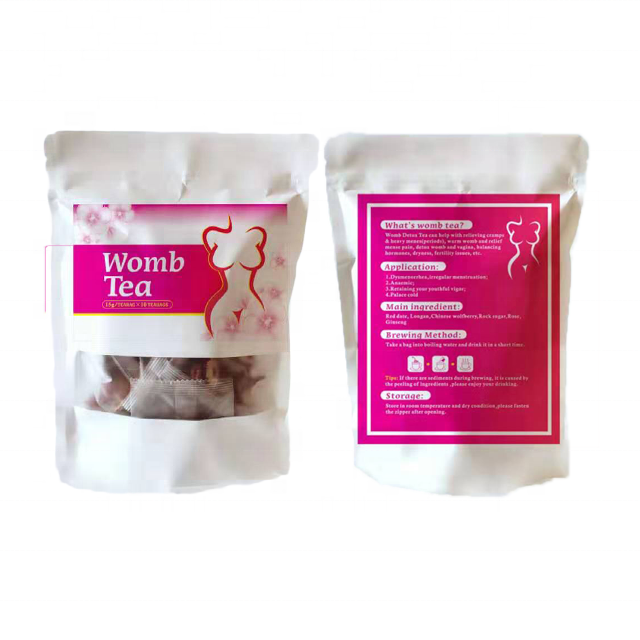 Hot sale OEM & ODM women womb tea,womb warm tea,uterus health tea