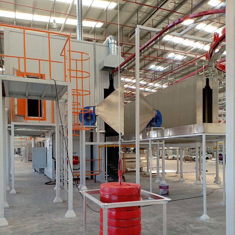 High quality custom powder coating recycle spray booth