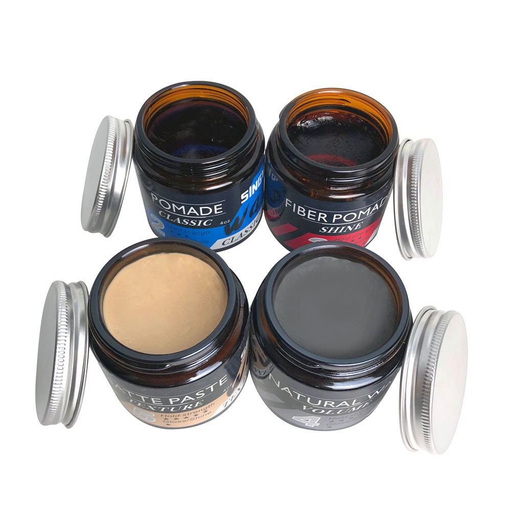 Private Label Strong Men Texturing Wax Ultra Matte Hair Styling Clay