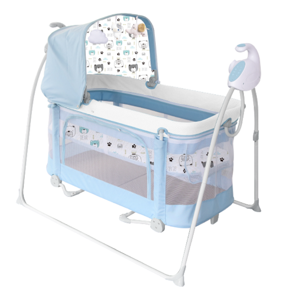 2in1 Babybedje <span class=keywords><strong>Bed</strong></span> Swing Met Mp3 Functie