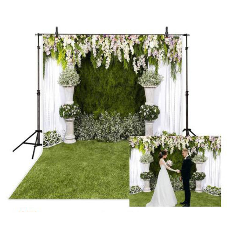 Indoor backdrop stand photography photo studio backgrounds backdrops stage decoration