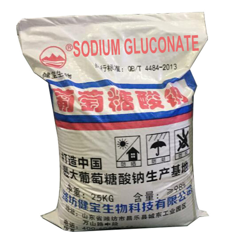 Top seller export quality sodium gluconate 98% as industrial cleaning chemical