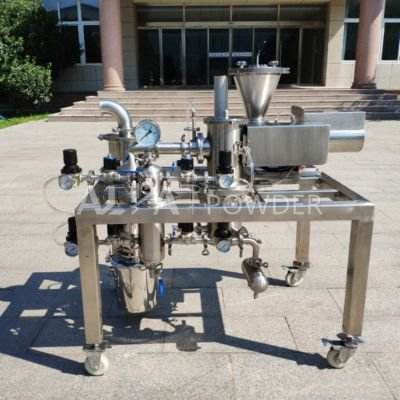Laboratory Jet Mill Small Universal Powder Grinding Impact Mill