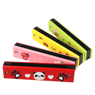 Hot Sale Education Toy 16 Holes Chromatic Harmonica C Tone Harmonica For Kids