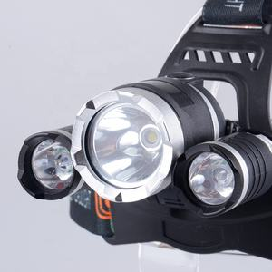 Hot Sale 5000lm 30 Watt 3 pcs XML T6 LED 4 Modes Powerful Rechargeable 3 Led Headlamp