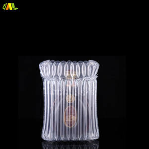 Bottle Packaging Air Bag For Express Delivery Inflatable Tube Cushion Bubble Filled Air Wrap Bags