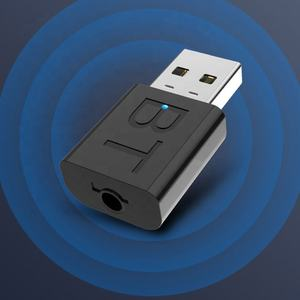 5,0 adaptador Bluetooth 2in1 transmisor receptor Mini USB inalámbrico Donggle adaptador 3,5mm música de Audio AUX amplificador de señal