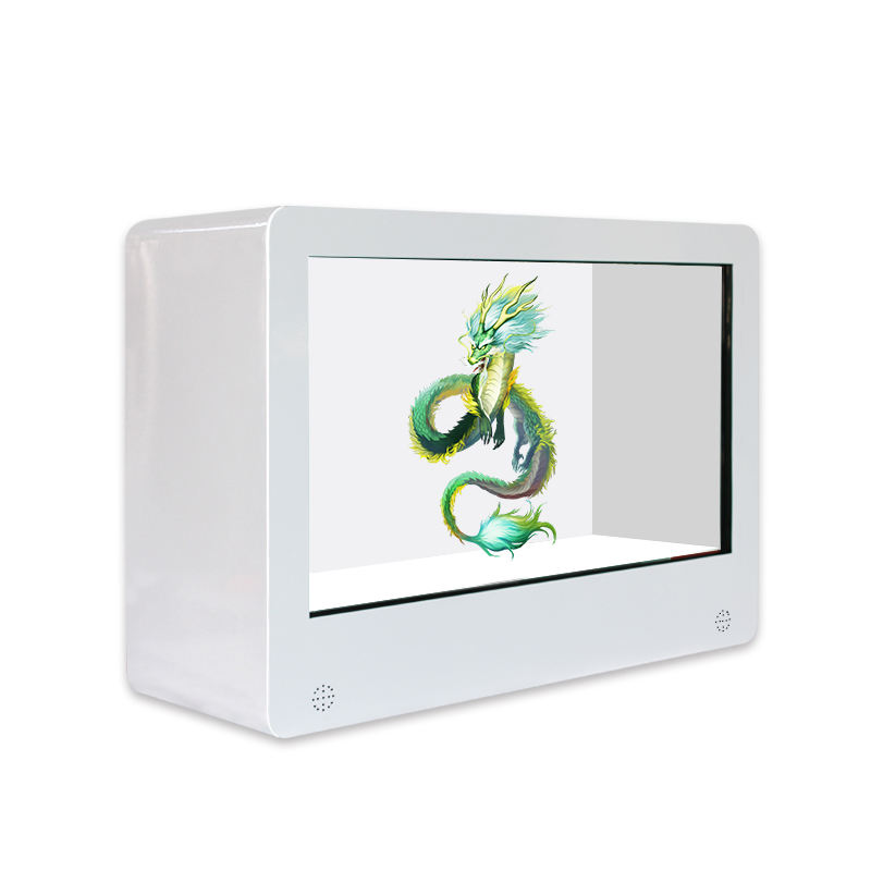 Werbung android transparent lcd/led display box