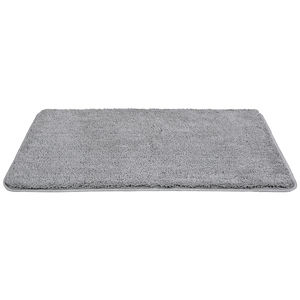 Hot sale bathroom velveteen non slip absorbent indoor door mats