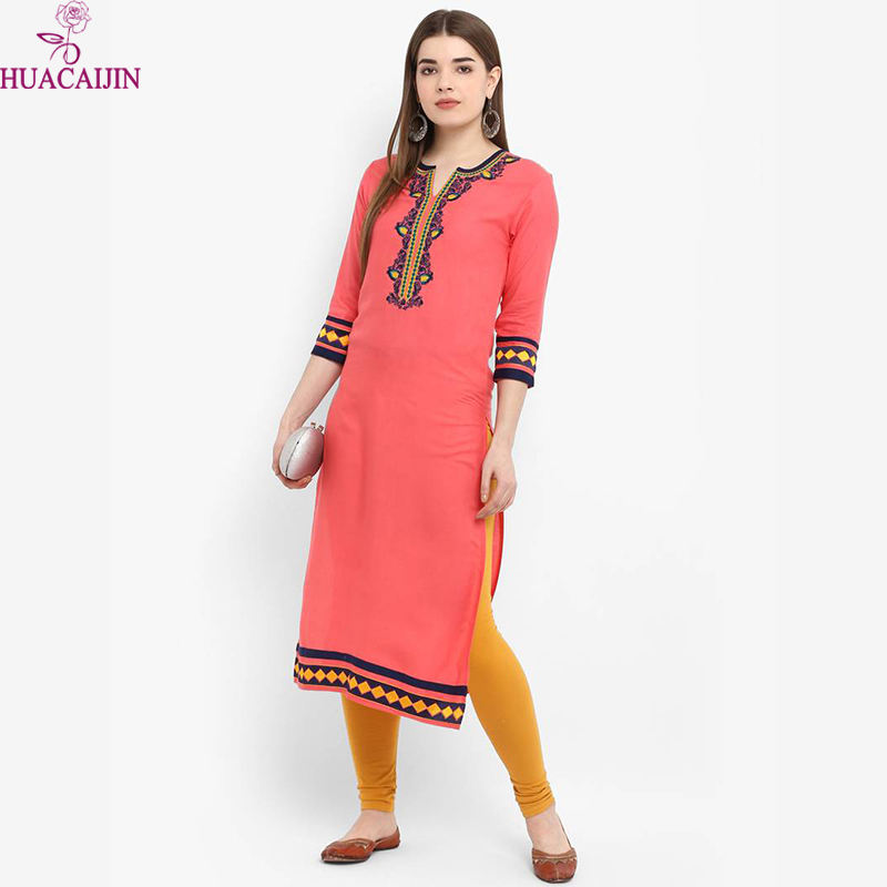 Casual Wear Soft American Crepe Womens Kurtis
