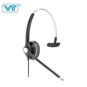HD Dijalin Dgn Tali Headset untuk Call Center QD Kabel RJ09 RJ11 3.5 Mm 2.5 Mm atau USB