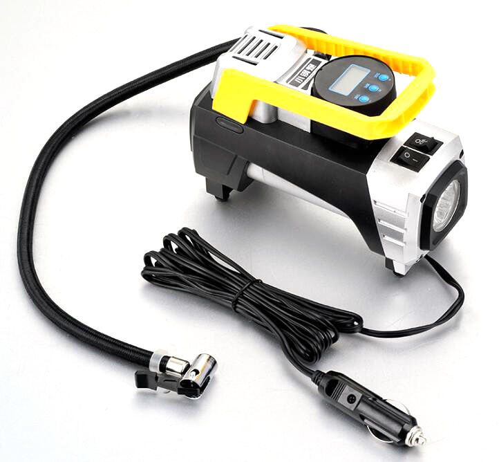 Mini portable 12v 120w 150psi hand car tire pump diesel air-compressor machine prices