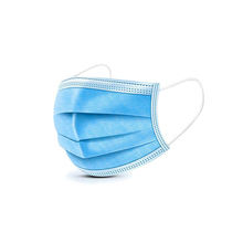 Large Supply Disposable Medical Masks Type ll R 3 ply surgical face mask with CE