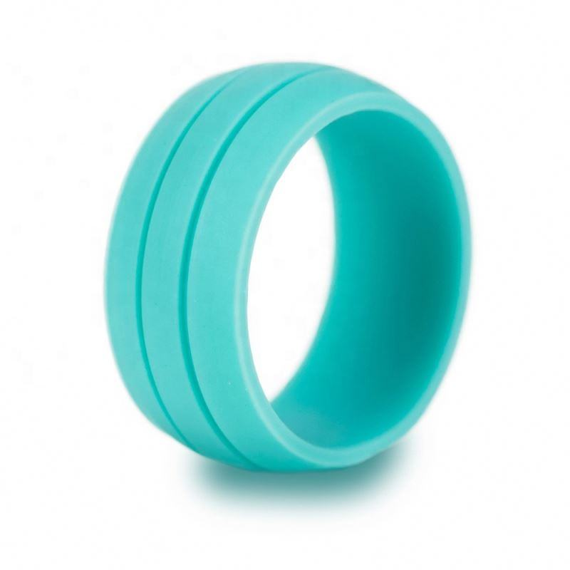 Hot new customizable of silicone wedding ring