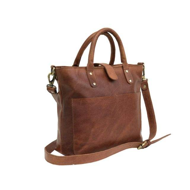 Trendy Fashionable Vintage Leather Ladies Handbag For Daily Use