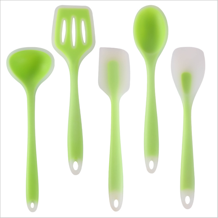 Safe Kitchen Ware , Silicone Rubber Kitchen Utensil Sets, Coats Silicone Kitchenware