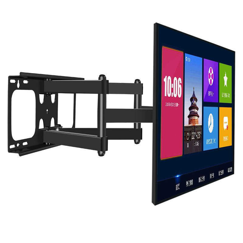 Large Size and Load Capacity Six Arms Swivel LCD LED TV Monitor Wall Bracket