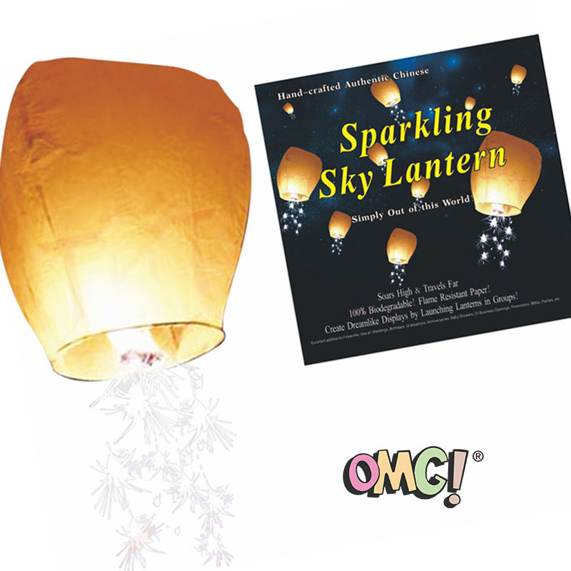 OMG FOX Chinese Sky Lantern for Festival,Supplier High Quality paper Lantern