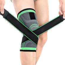 Wholesale Best Seller Gym Knee Sleeve Strap Knee bandage Compression Fit Knee Brace Support for Sports Running Fitness