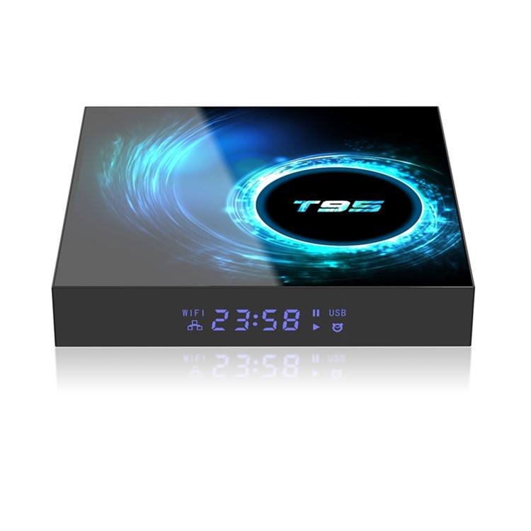 T95 H616 4G/64G Wifi H.265 6K Smart Android Box Media Play Set Top BOX T95 TV Box Android 10,0