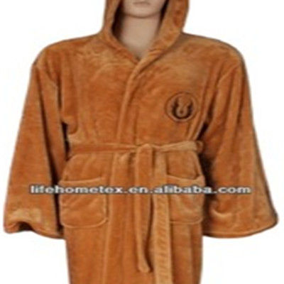 Flannel Cosplay Jedi Stock Bathrobe