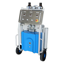 High pressure ISO and POLY Chemical expanded polyurethane foam spray machine