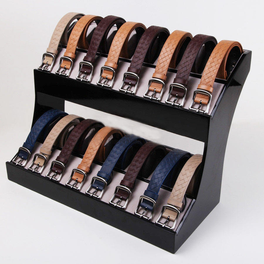 Acrylic Leather Belt Display Stand