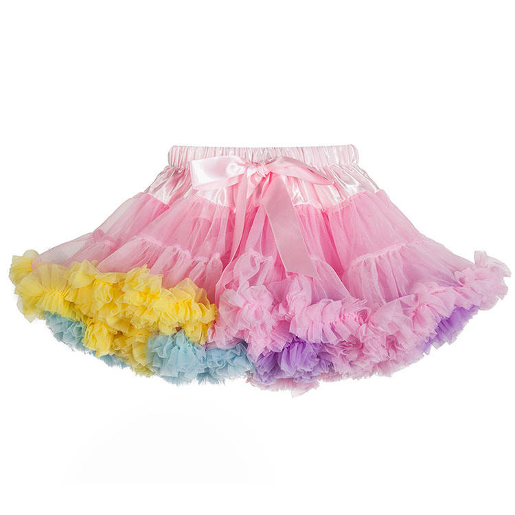 Kids Girls Fancy Ballet Fluffy Pettiskirt, Beautiful Tutu Dress
