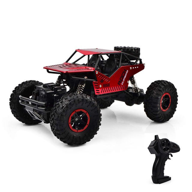 2019 Promotion remote control car monster car off road vehicle metal drift rc 4wd car big foot 25km/h for kids adult