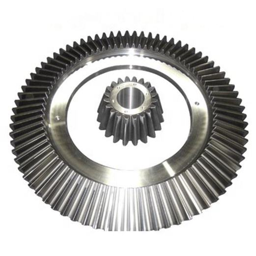 OEM CNC Milling Forged Hardened Spur Gear Ring and Pinion Bevel Gear for Concrete Mixer