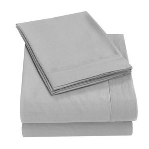 1800 Benang Bed Sheet Set/ Microfiber Sprei Queen