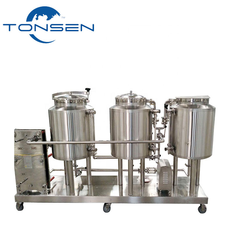 50l 100l 200l draft beer wine fermentation tankf or micro brewery home bar hotel