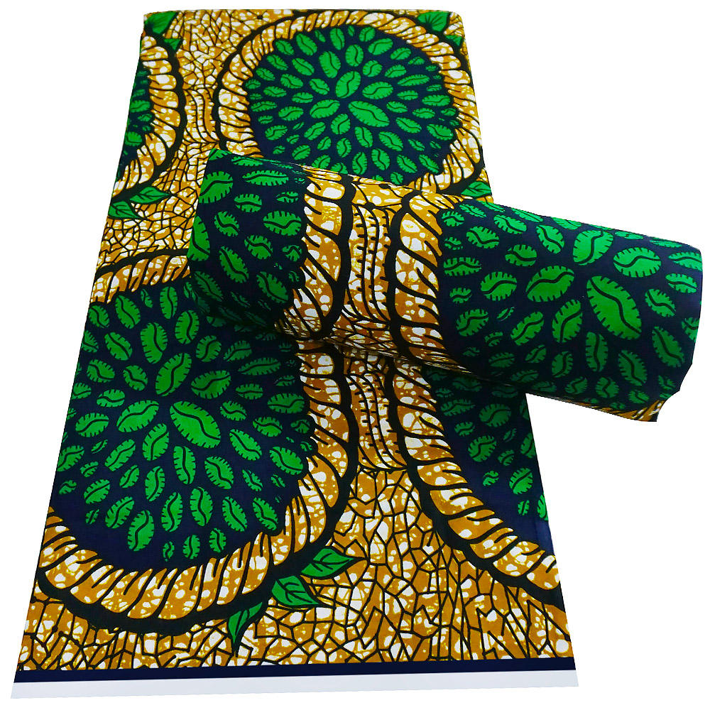 fabric wax african wax prints real wax cotton african print veritable block high quality V1019