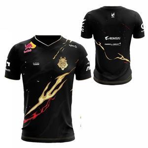 LOL LEC G2 Esports Custom Team Jersey Player Uniforms World Limited T-Shirt for CSGO Game Jersey Wunder Jankos Caps PerkZ