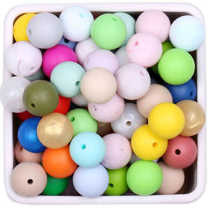 10Mm Silicone Round Bead Sillicon Beads For Jewelry Making