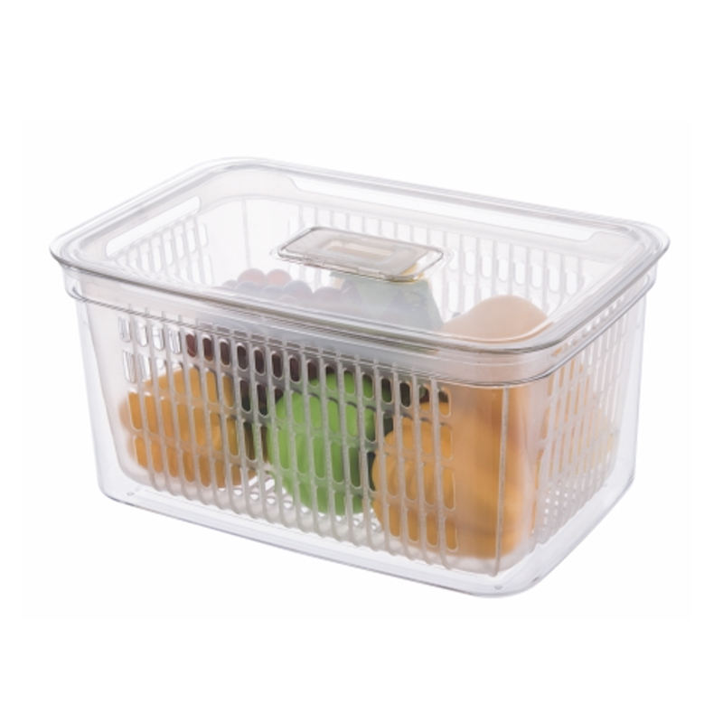 SA-3484 Kitchen Refrigerator Draining Box For Fruits And Vegetables