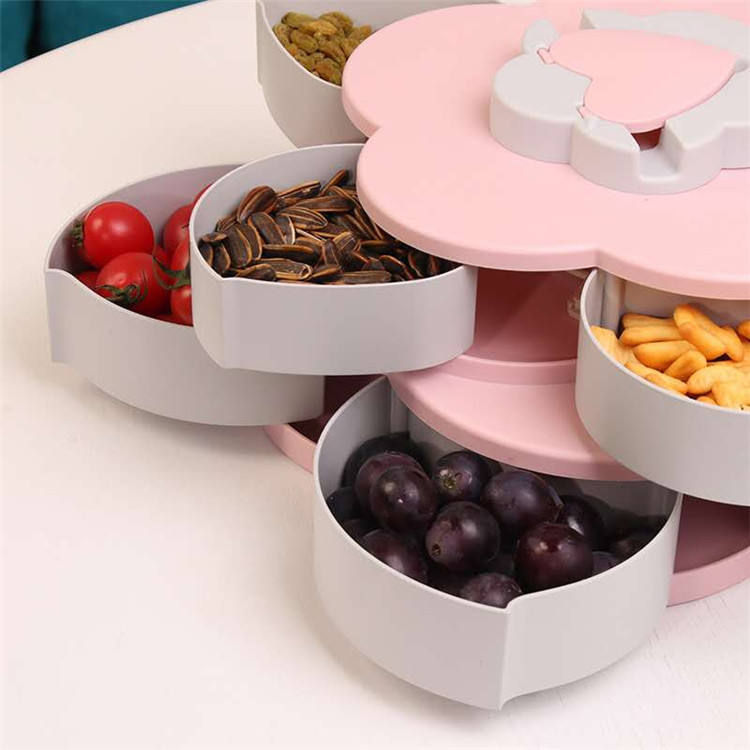 Popular Party Modern Pattern Rotating Candy Box
