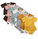 Kids clothing set 2019 new style leisure baby boy vest summer wear and shorts high quality cotton organic 1-6T baby clothes