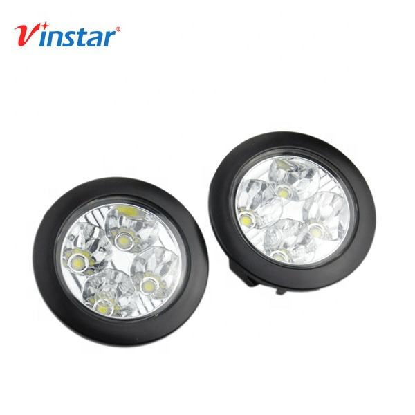 Vinstar Wholesales Waterproof 12/24V Universal LED DRL Daytime Running Light for Most Cars