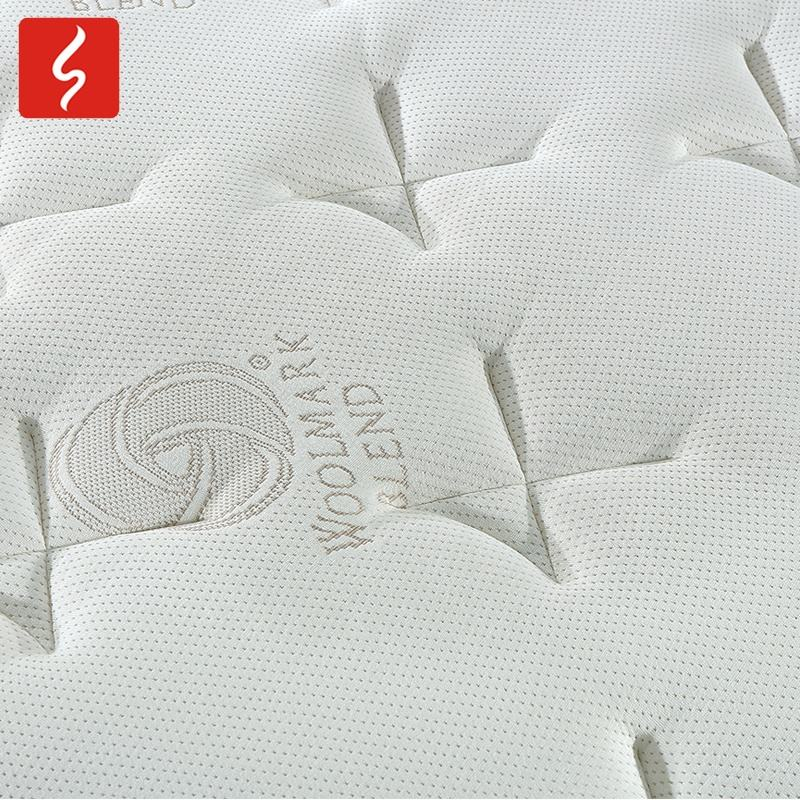 Sichou Different Models of pocket euro top gel memory foam bed mattress 12 inch