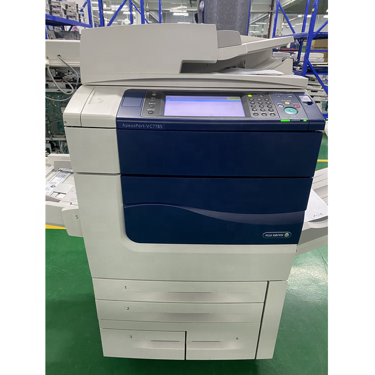 High speed photocopy machine used photocopier for Xeroxs V 7785 A3 Color Printer Scanner Copier