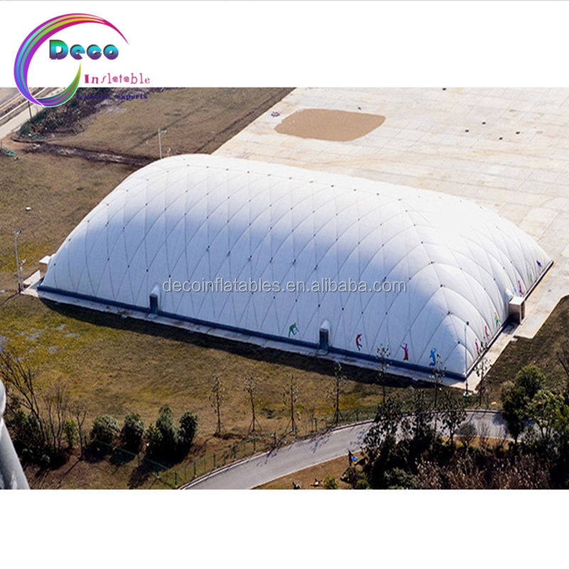 Custom huge Inflatable hangar, inflatable warehouse tent