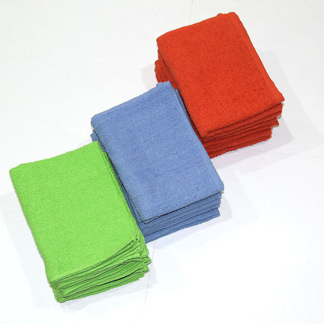 100% cotton terry towels , Uni dyed terry towel 380 GSM, colorful towels, Super Absorbent