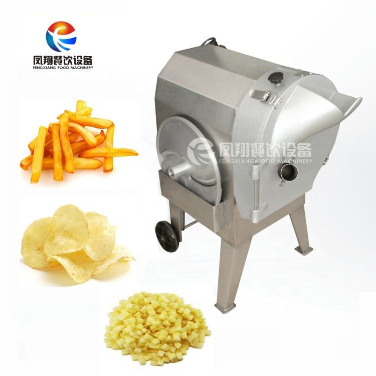 FC-312 Automatic Vegetable Cutter, Tomato Slicing Machine, Potato Chips Slicer