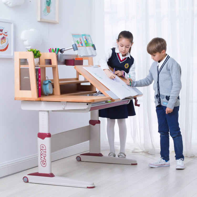 Ergonomic Study Table And Chair GMYD Kids Study Table And Chair With Ergonomic Design