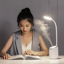 New arrival Multifunctional LED Humidifier table desk lamp with best quality
