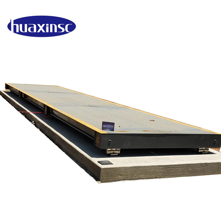 Weighbridge 60 40 Tons used Electronic Truck Scale Price New special steel AJ 700 Anti-corrosion high strength